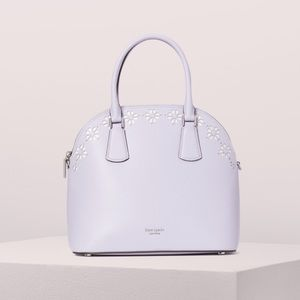 Kate Spade sylvia Large perforated satchel